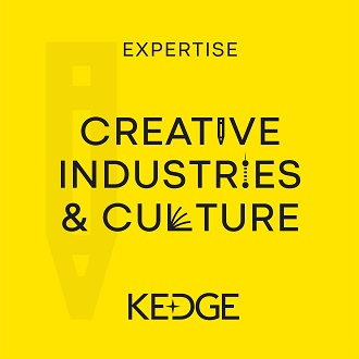 Logo Expertise Creative Industries & Culture-KEDGE BS