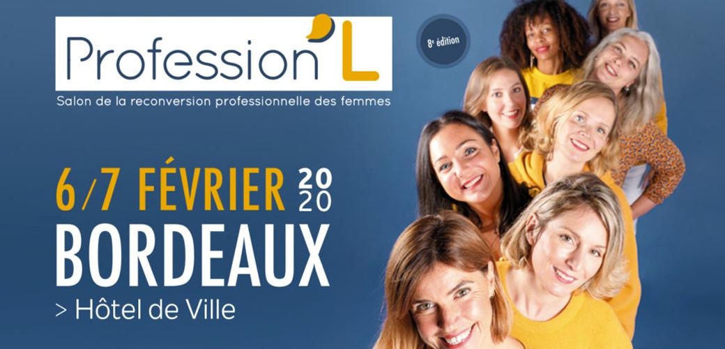 KEDGE Executive Education est partenaire du Salon Profession'L Bordeaux des 6 & 7 février 2020