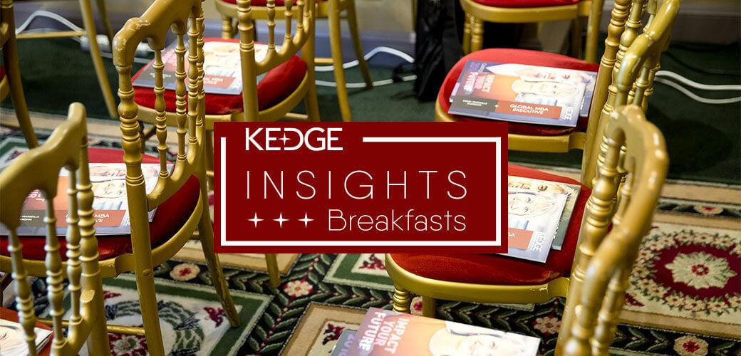 KEDGE INSIGHT BREAKFAST : Les communautés d'innovation ou l'émergence d'un management collaboratif au service du développement de votre entreprise - KEDGE