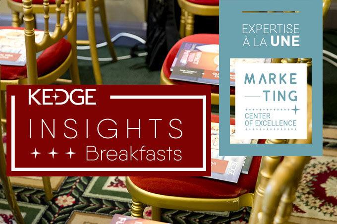 KEDGE Insights Breakfasts : Comment capitaliser sur la vie sociale d'une marque ? - KEDGE